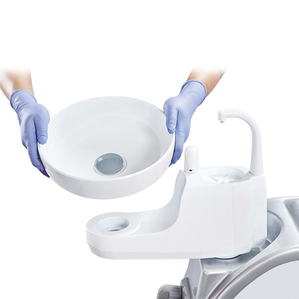 Bồn nhổ vệ sinh dễ dàng - Roson s3